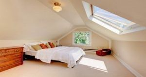 A loft conversion completed by our team.